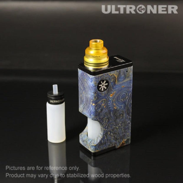 ULTRONER Luna squonk Mod Kit Stabilized Wood