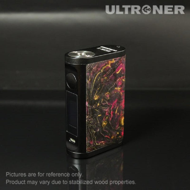 ULTRONER EOS II 180W TC Box Mod Stabilized Wood Black