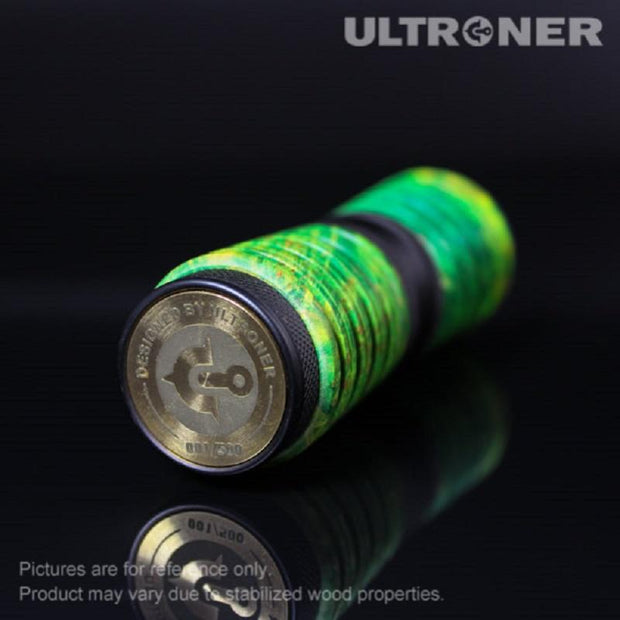ULTRONER Omega Coil Mechanical Mod Bottom View