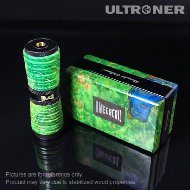 Green ULTRONER Omega Coil Mechanical Mod