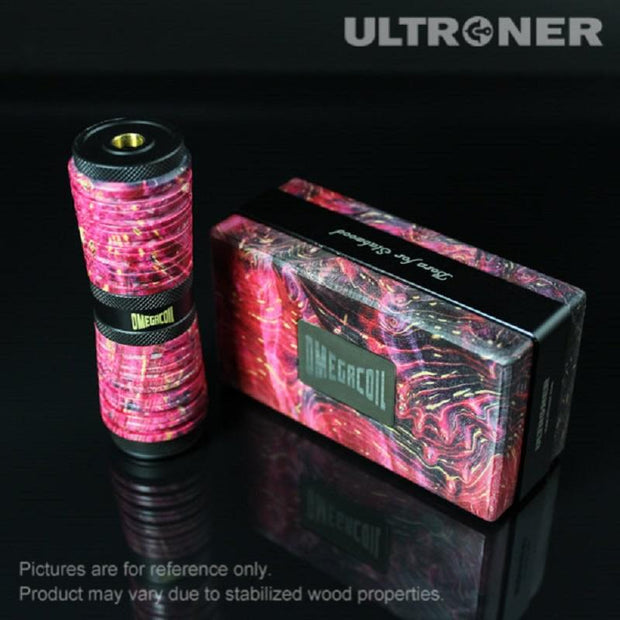 Red ULTRONER Omega Coil Mechanical Mod Real Shots