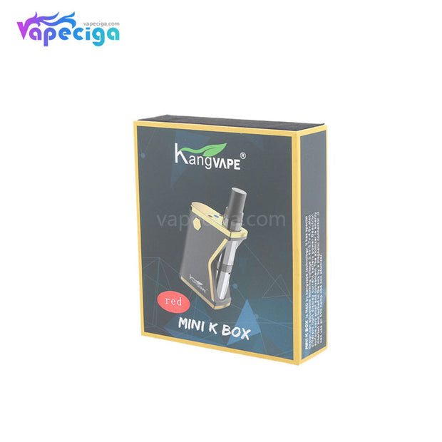Kangvape Mini K VV Box Mod Kit 400mAh 0.5ml Pakcage