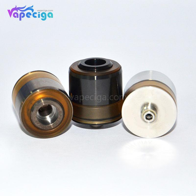 LE TURBO V4 Style RDA without Drip Tip 22mm