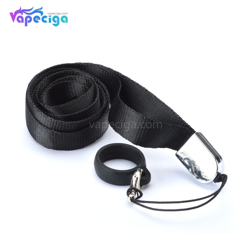 Lanyard with Silicone Vape Band for Pod System Starter Kit