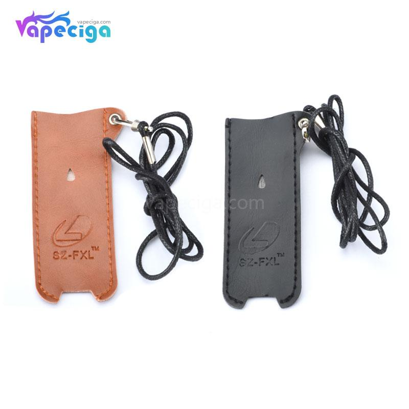 Leather Protective Case with Lanyard for Pod System Starter Kit