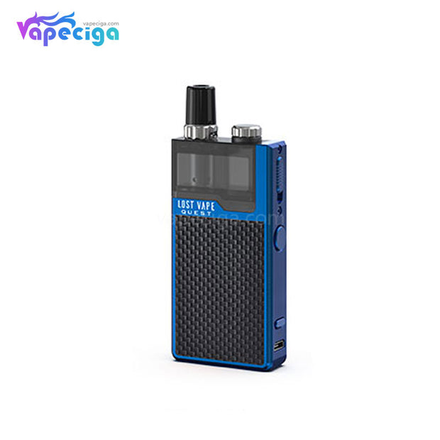 Lost Vape Orion Q-PRO Pod System VW Starter Kit Weave Series Blue/Weave