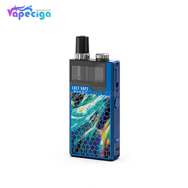 Lost Vape Orion Q-PRO Pod System VW Starter Kit Honeycomb Series Blue/Aurora