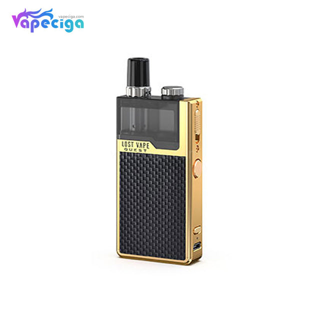 Lost Vape Orion Q-PRO Pod System VW Starter Kit Weave Series Gold/Weave