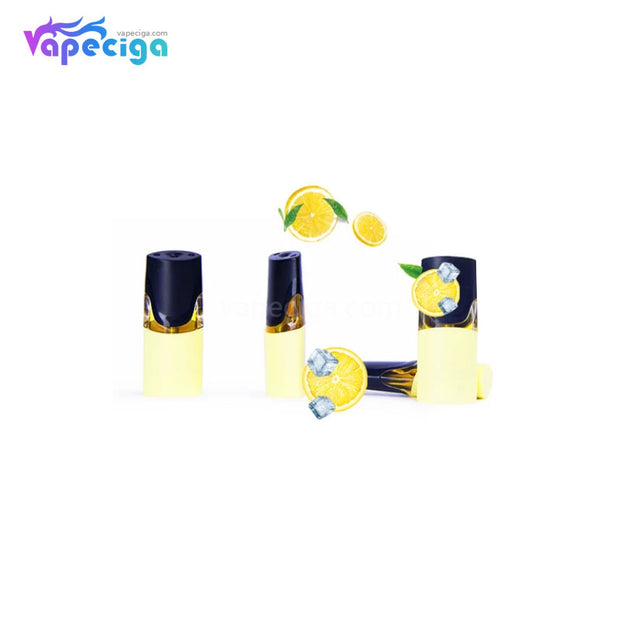 MOTI Replacement Pre-filled Pod Lemon Tea 1.8ml 4PCs Chinese Edition