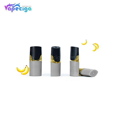 MOTI Replacement Pre-filled Pod Banana Frost 1.8ml 4PCs Chinese Edition