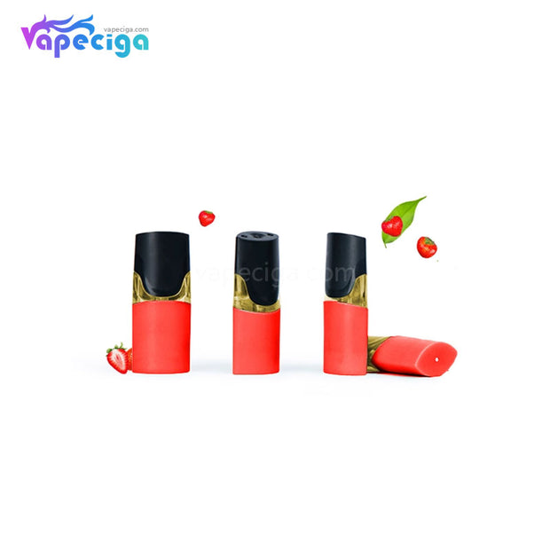 MOTI Replacement Pre-filled Pod Strawberry Parfait 1.8ml 4PCs Chinese Edition