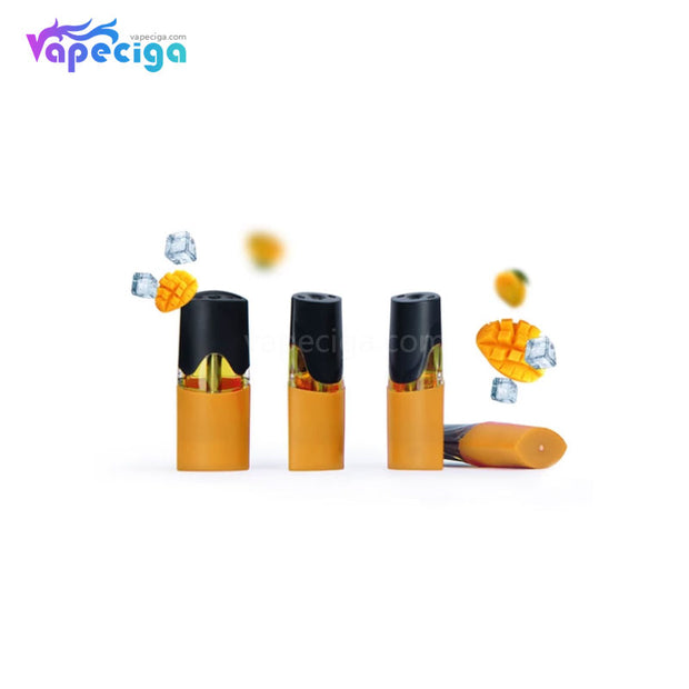 MOTI Replacement Pre-filled Pod Mango 1.8ml 4PCs Chinese Edition