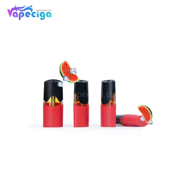 MOTI Replacement Pre-filled Pod Watermelon Ice 1.8ml 4PCs Chinese Edition