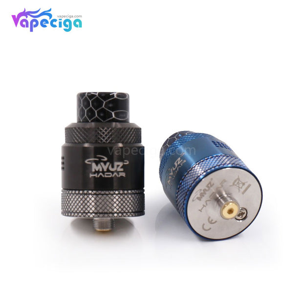 Black & Navy Blue Myuz Hadar RDA 25mm