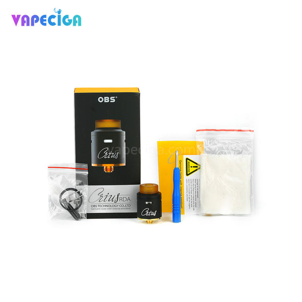 OBS Crius RDA Package Contents
