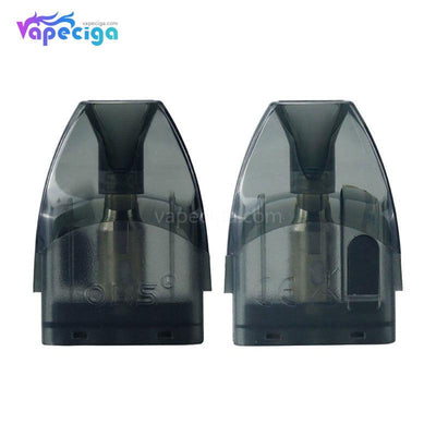 OBS Cube Replacement Pod Cartridge 4ml 2PCs Black
