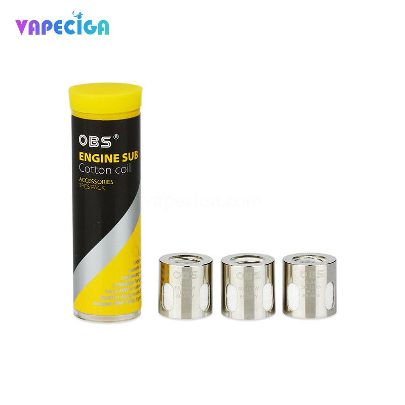 OBS Engine Sub Replacement Sub Ohm Coil 3PCs