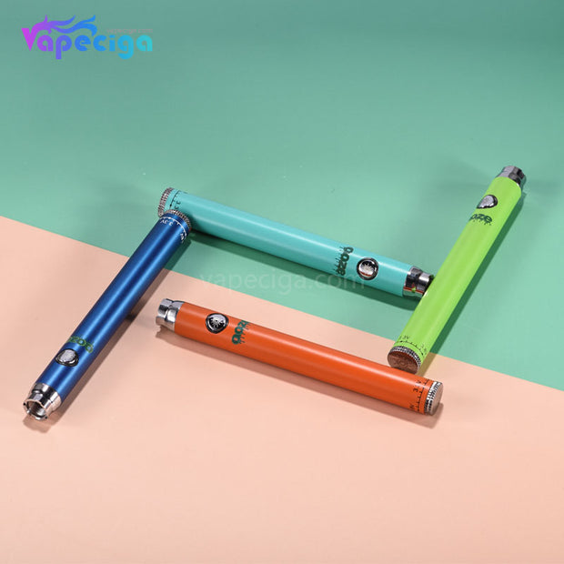 OOZE Vape Pen VV Battery with Charger 350mAh Display