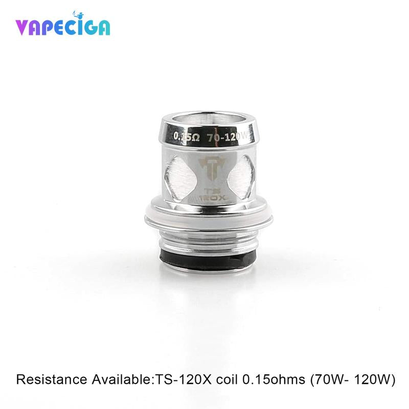 Original TS-120X Coil For Teslacigs Resin Tank 4PCS/Pack
