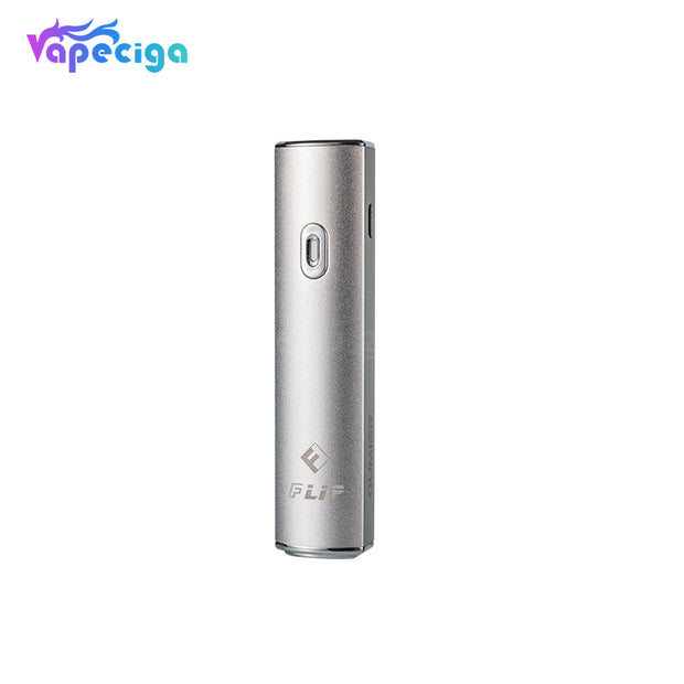 Oumier Flip 2-in-1 Vape Pen Battery 550mAh Silver