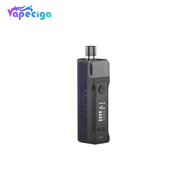 Oumier Voocean 40 Pod System Starter Kit 40W 1200mAh 3.5ml Purple Lattice