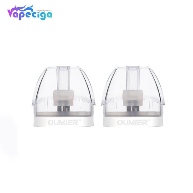 Oumier O1 Replacement Pod Cartridge 2ml Clear