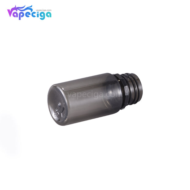 PE Semi-transparent Black Dropper Bottle 30ml 5PCs