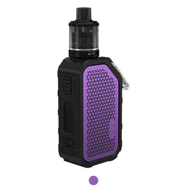 Purple WISMEC Active Bluetooth Music TC Kit with Amor NSE 2100mAh