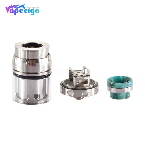 QP Design Juggerknot Mini RTA 4.5ml 24mm Components