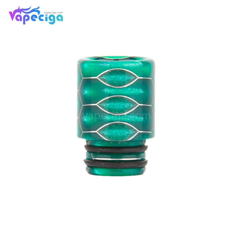 REEVAPE AS104SS Straight Resin 510 Drip Tip with Double Washer