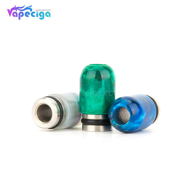 REEVAPE AS106 Resin + Stainless Steel 510 Drip Tip 3 Colors Display