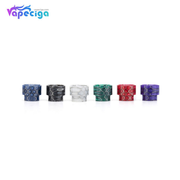REEVAPE AS107S Resin 810 Drip Tip 6 Colors Available