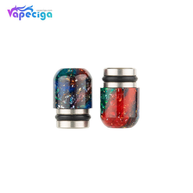 REEVAPE AS109E Resin + Blue Stainless Steel 510 Drip Tip
