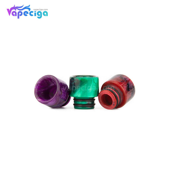 REEVAPE AS115 Resin 510 Drip Tip 3 Colors Display
