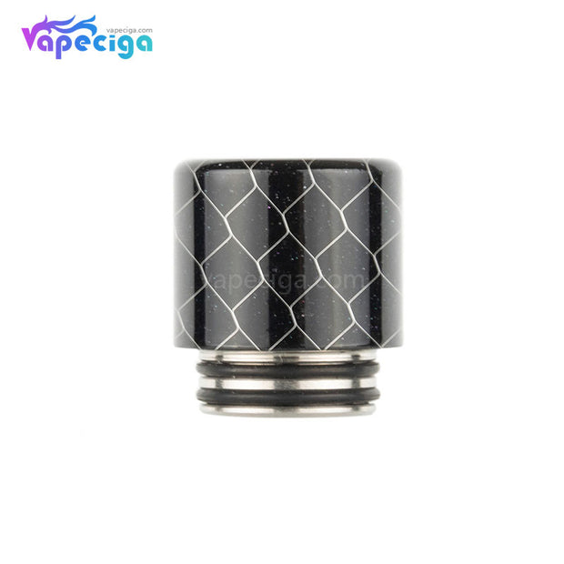 REEVAPE AS272FS Resin 810 / 510 Drip Tip Black with Oil-splash Mesh