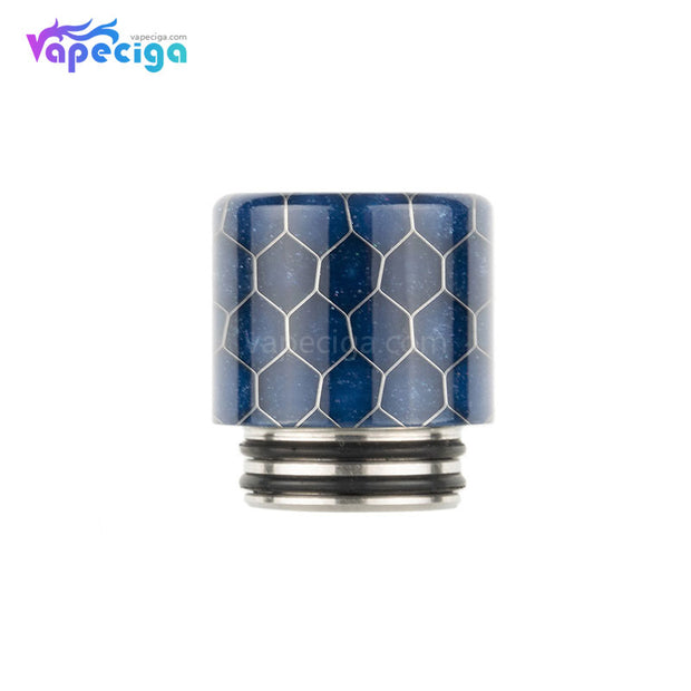 REEVAPE AS272FS Resin 810 / 510 Drip Tip Dark Blue with Oil-splash Mesh