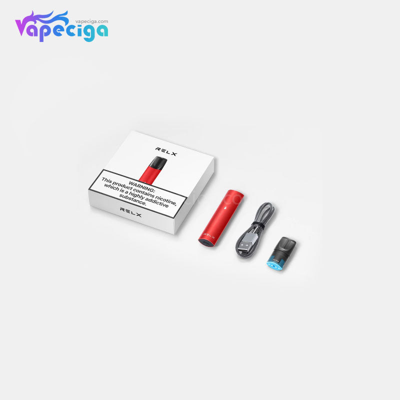 Relx Vape Pod Close System 2 Flavors 350mAh 2ml 6 Colors Chinese Edition