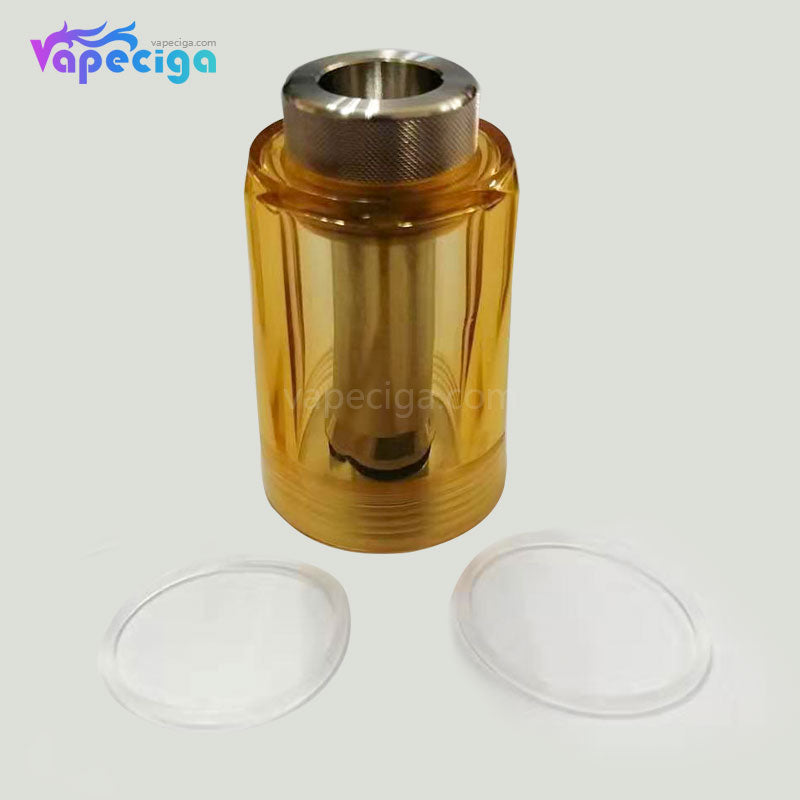 Replacement Diamond Tank Tube + Chimney for Flash e-Vapor V4.5 Style RTA