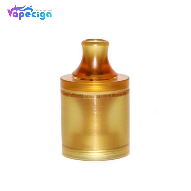 Replacement PMMA / PEI Tank Tube for Across Vape Wormhole Dvarw Style MTL RTA Yellow
