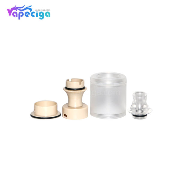 Replacement PMMA / PEI Tank Tube for Across Vape Wormhole Dvarw Style MTL RTA Components