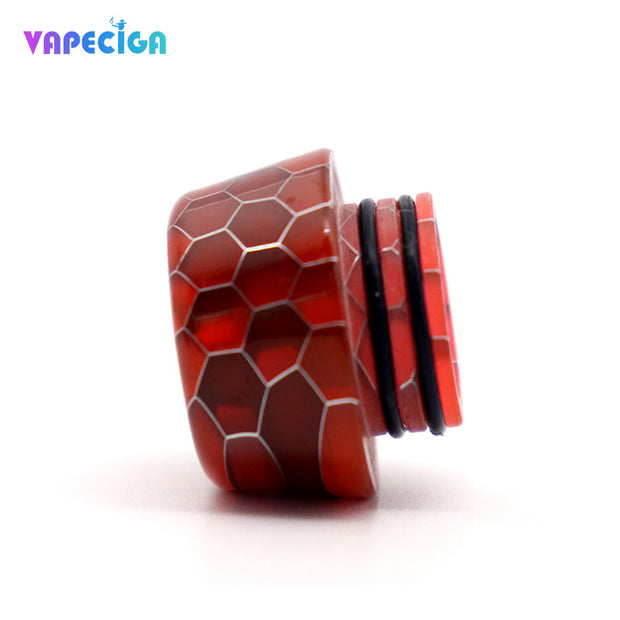 Resin 810 Drip Tip Red Details