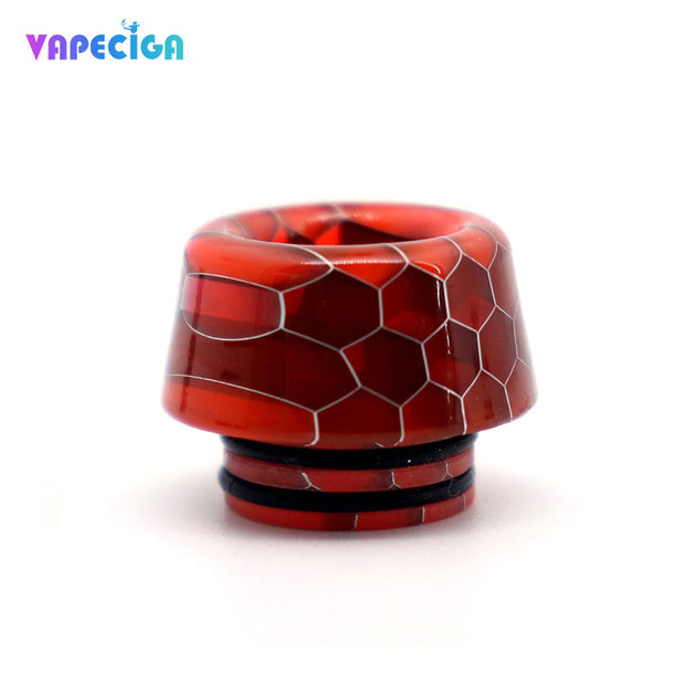 Resin 810 Drip Tip 4PCs Red