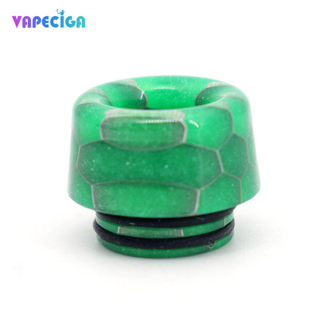 Resin 810 Drip Tip 4PCs Green