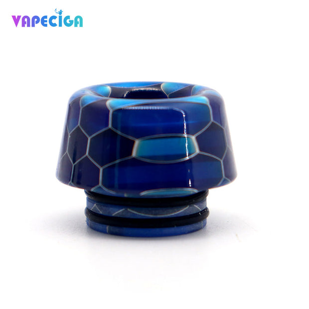 Resin 810 Drip Tip 4PCs Blue