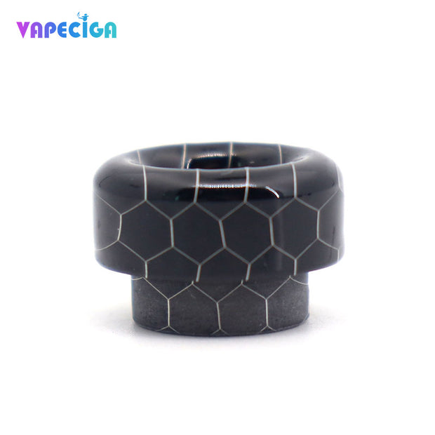 Resin Bare 810 Drip Tip 4PCs Black