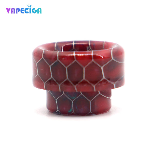 Resin Bare 810 Drip Tip 4PCs Red