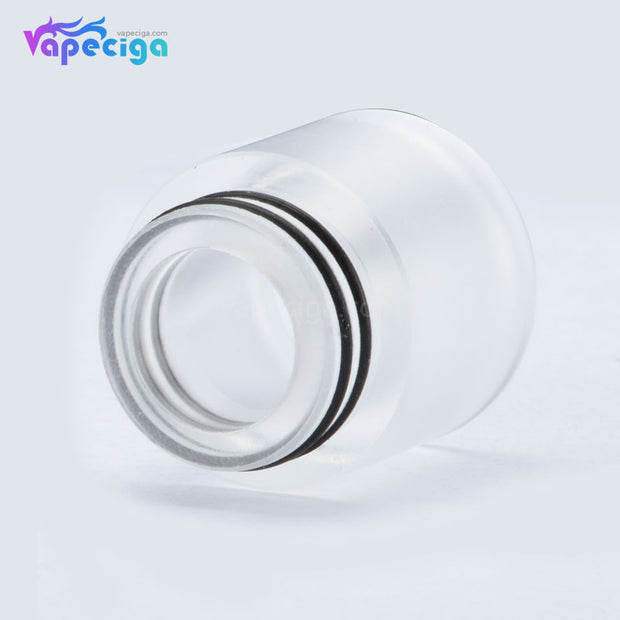 Resin Cool 810 Drip Tip with Large Bore Transparent