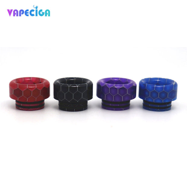 Resin Wide Bore 810 Drip Tip 4PCs