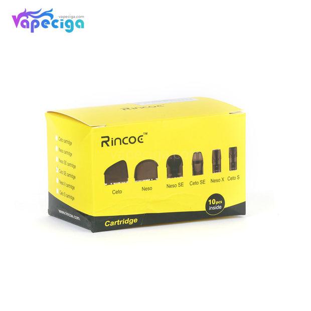 Rincoe Ceto SE Replacement Pod Cartridge Package Outlook