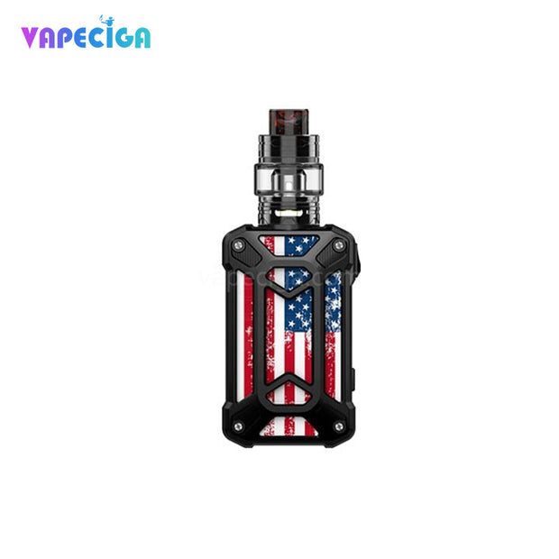 Steel Case-American Flag Black Rincoe Mechman TC Mod Kit